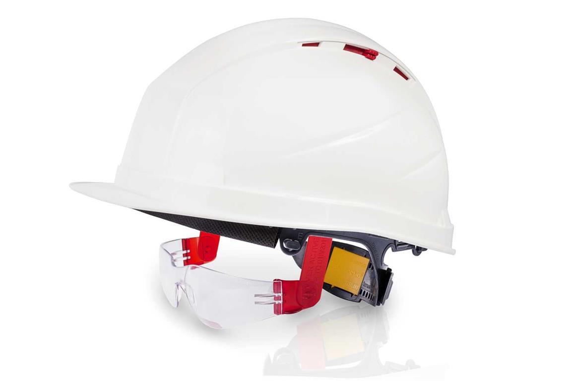 Защитные очки открытого типа О15 HAMMER ACTIVE plus, встраиваемые в защитные каски Favori®T