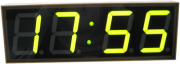 Часы-дозиметры, Электронные часы