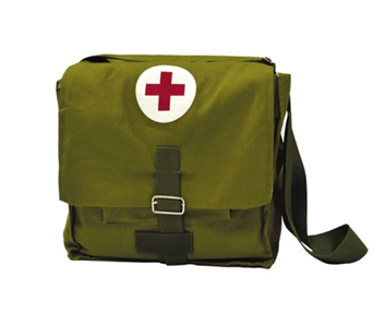 Укладка сумки санитарной